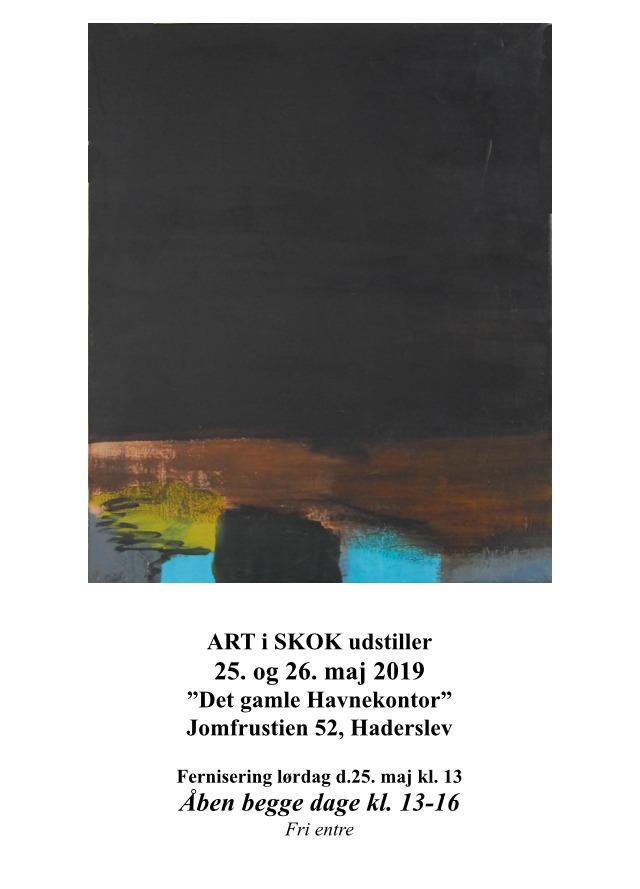 ArtiSkok udstiller ved Haderslev Kunstforening