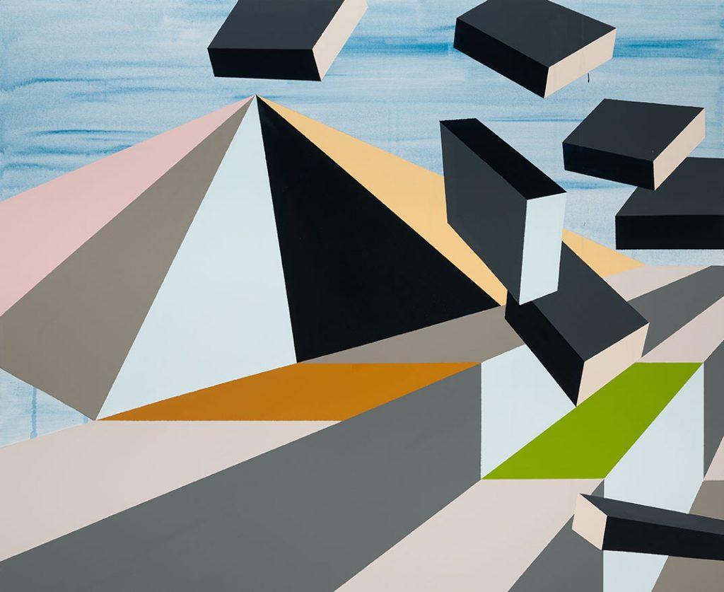 Floating Platforms I af Annette Gerliff
