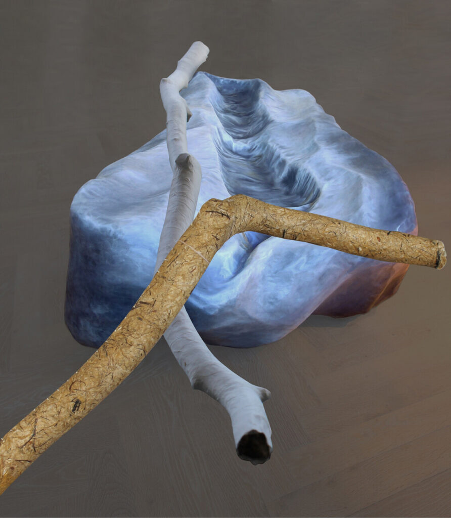 Birgit Østergaard: Sticks and Bones ved Haderslev Kunstforening